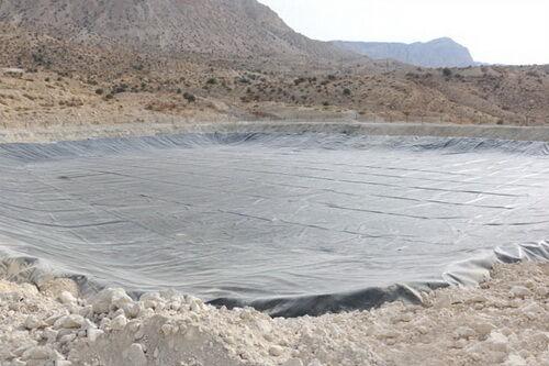 ایجاد گودال تبخیر در مرکز بهرهبرداری گاز کنگان