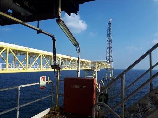 Gas Production Resumed at Phase 16 Platform