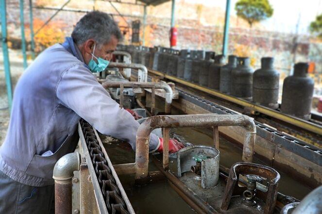 توزیع الکترونیکی گاز مایع در منطقه تهران کلید خورد