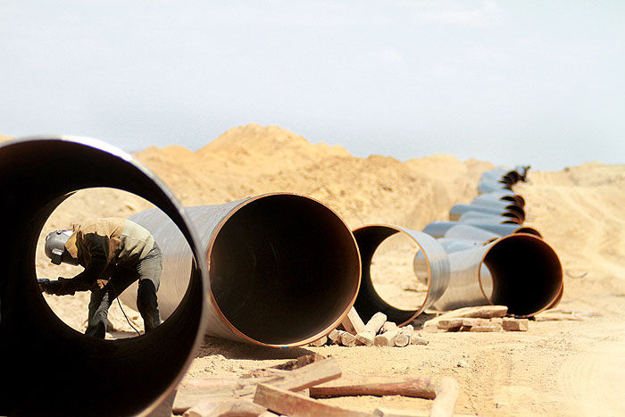 خودکفایی ساخت ۶۵۰ قطعه در منطقه ۷ عملیات انتقال گاز