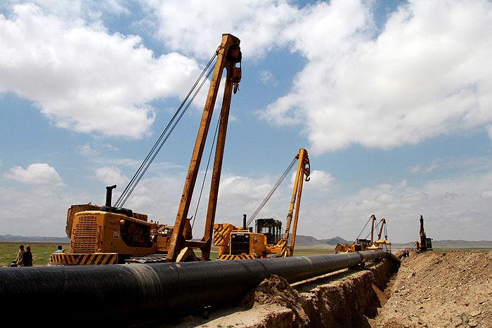 خط لوله انتقال گاز ماهشهر - شادگان به بهرهبرداری رسید
