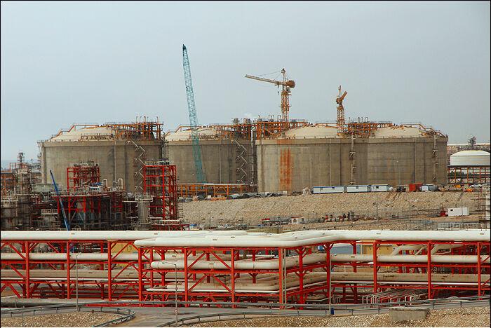 مخازن متمرکز ذخیرهسازی پارس جنوبی در آستانه بهرهبرداری رسمی