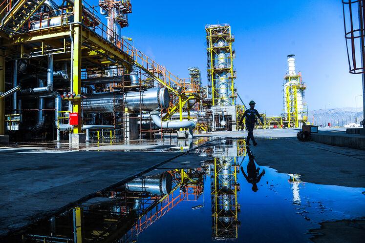خوراک سالانه 320 میلیون مترمکعب گاز طبیعی بهعنوان سوخت و 429 میلیون مترمکعب گاز طبیعی بهعنوان خوراک در این مجتمع مورد نیاز و مصرف است.