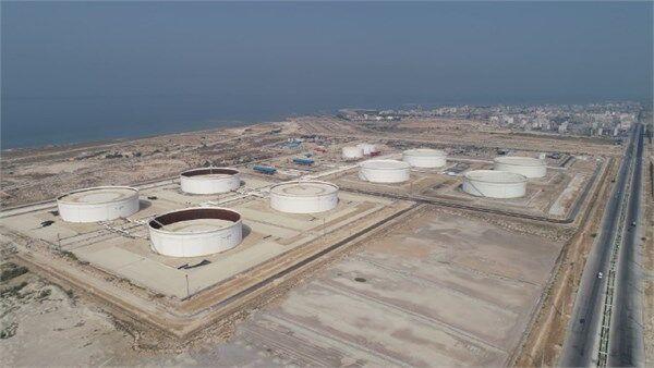 مخازن ذخیرهسازی میعانات گازی پالایشگاه فاز ۱۴ پارس جنوبی به بهرهبرداری رسیدند