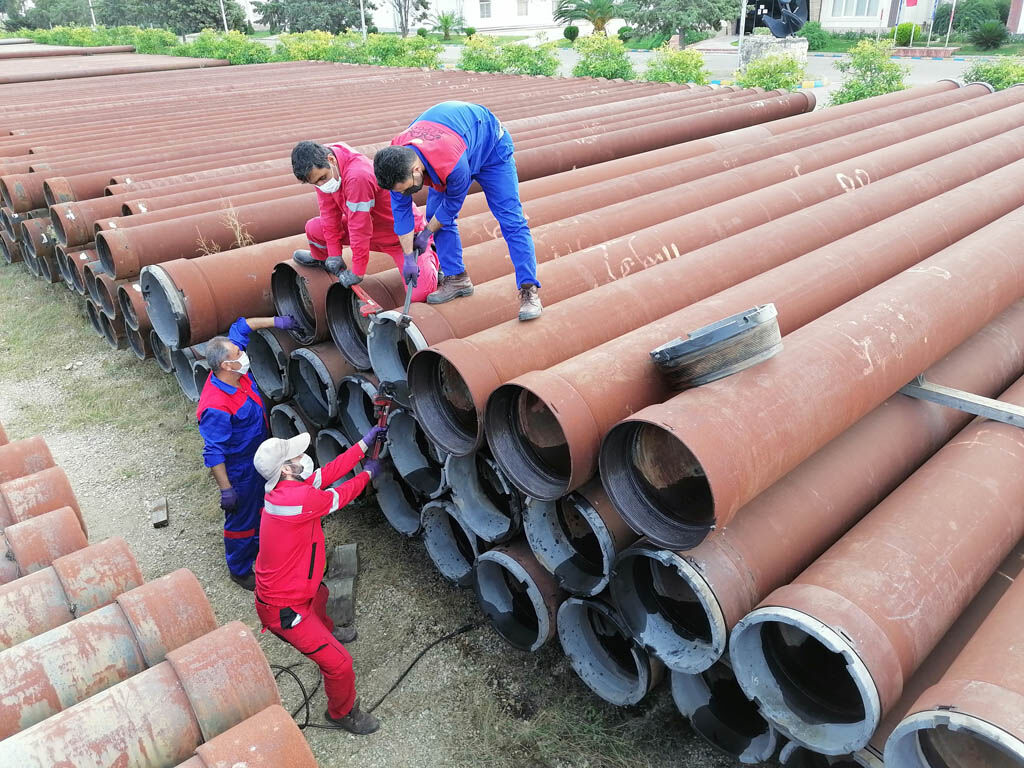 Forging 16-inch Pipes Begins at ICOFC