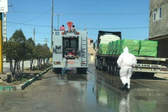 امدادرسانی پتروشیمیها برای رفع آبگرفتگی مناطق مسکونی ماهشهر