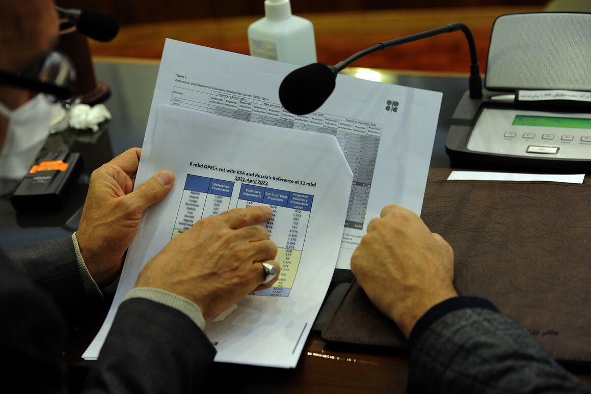 کاهش تولید اوپک پلاس در ماه فوریه ۷.۱۲۵ میلیون بشکه شد