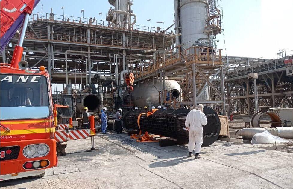 تعمیرات ردیف ۲ نفت و گاز دارخوین انجام شد