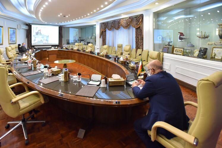 آیین امضای تفاهمنامه همکاری بین وزارت نفت و معاونت امور زنان و خانواده ریاست جمهوری