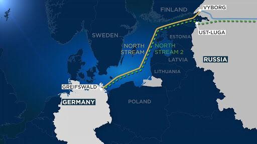 پارلمان اروپا خواستار توقف پروژه نورد استریم-۲ شد