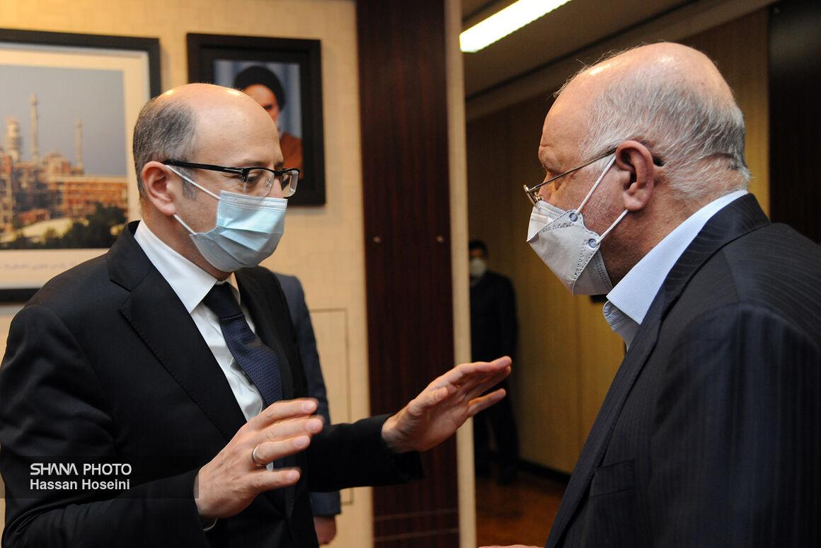 دیدار و گفتوگوی وزیر نفت با وزیر انرژی جمهوری آذربایجان