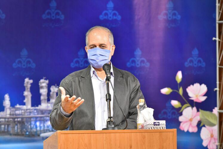 محمد عسکری، رئیس روابط عمومی شرکت ملی گاز ایران
