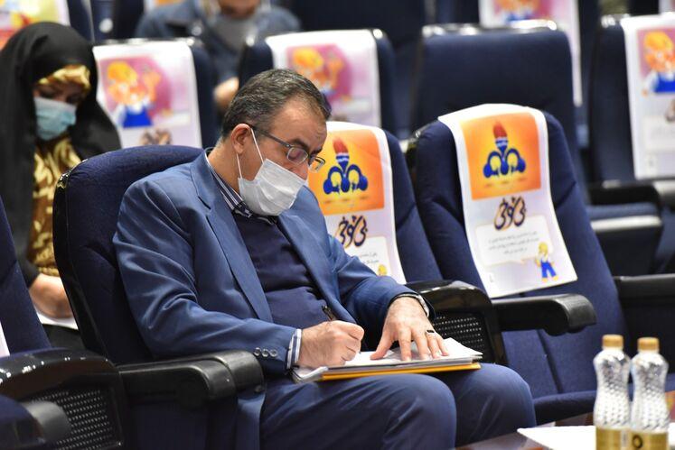غلامرضا مشایخی، مدیر گازرسانی شرکت ملی گاز ایران