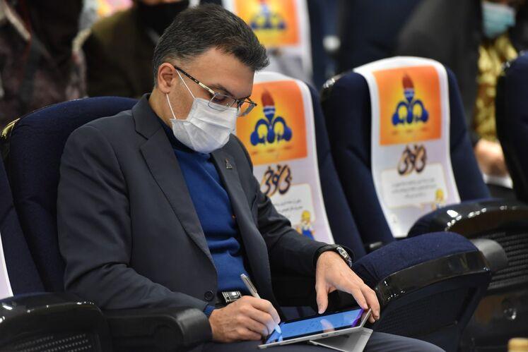 محمّدرضا جولایی، مدیر دیسپچینگ شرکت ملی گار ایران