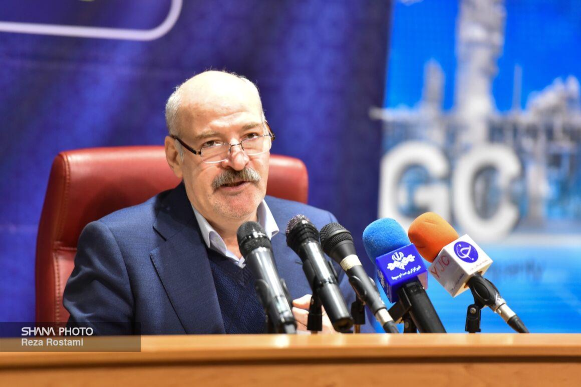 نشست خبری مدیرعامل شرکت ملی گاز ایران
