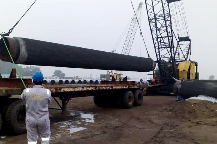 Goreh-Jask Pipeline Project 70% Complete