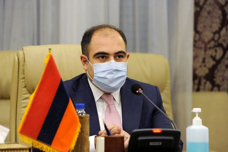 هاکوپ وارتانیان، معاون وزیر زیرساختها و مدیریت منطقهای ارمنستان