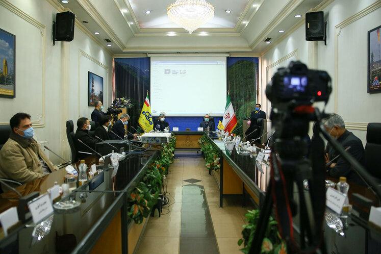 آیین امضای تفاهمنامه شرکتهای مهندسی و توسعه گاز و نفت خزر