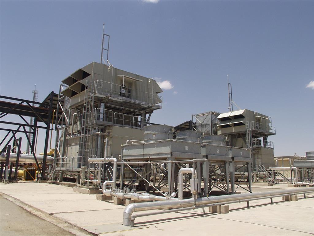 خودکفایی منطقه ۸ عملیات انتقال گاز در ساخت IGV توربین