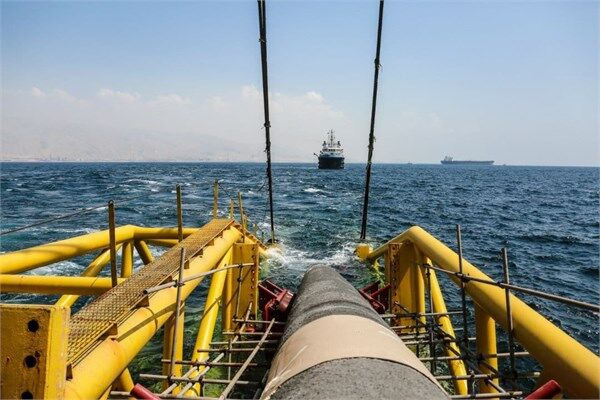Offshore Pipe-Laying Operations of Jask Oil Terminal Kicks Off