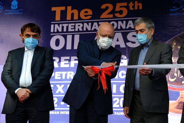 آیین گشایش بیستوپنجمین نمایشگاه بینالمللی نفت، گاز، پالایش و پتروشیمی