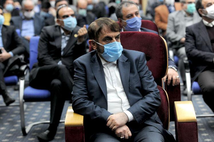علی آقا محمدی، عضو مجمع تشخیص مصلحت نظام  در آیین گشایش بیستوپنجمین نمایشگاه بینالمللی نفت، گاز، پالایش و پتروشیمی