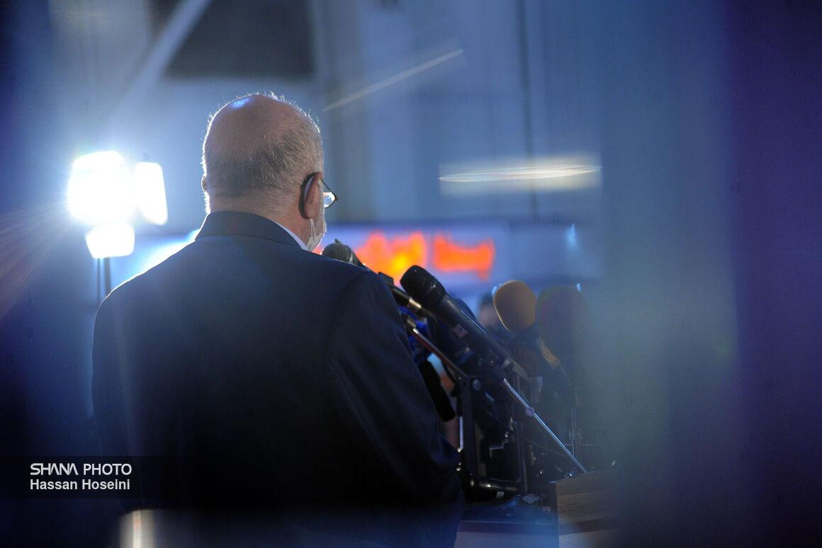 گفتوگوی وزیر نفت با خبرنگاران در حاشیه بیستوپنجمین نمایشگاه نفت