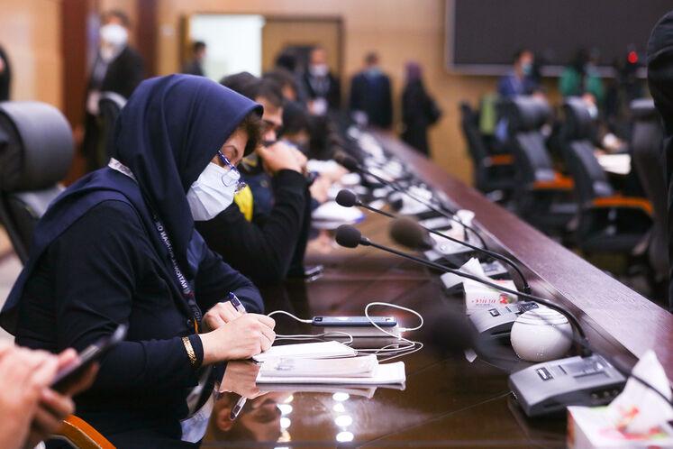 نشست خبری معاون وزیر نفت در امور گاز