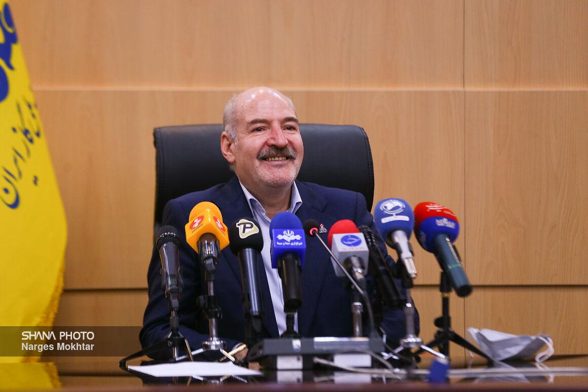 نشست خبری مدیرعامل شرکت ملی گاز ایران در حاشیه نمایشگاه