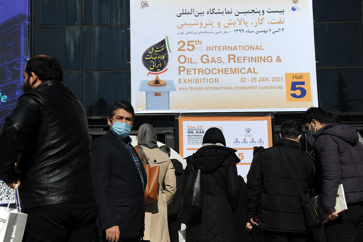 حاشیه روز سوم از بیستوپنجمین نمایشگاه بینالمللی نفت ایران