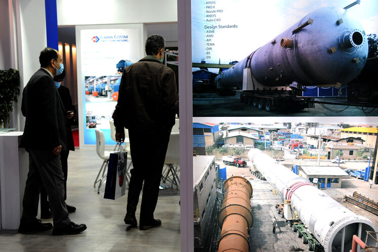 حاشیه بیست و پنجمین نمایشگاه بین المللی نفت گاز پالایش و پتروشیمی