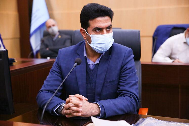 شهرام بردک، رئیس روابط عمومی شرکت ملی مناطق نفتخیز جنوب