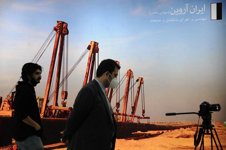 غرفه شرکت ایران آروین در نمایشگاه بین المللی نفت گاز پالایش و پتروشیمی