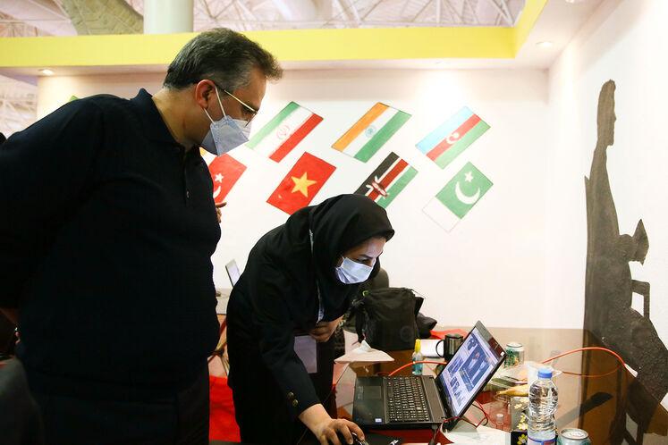 بازدید کسری نوری، مدیرکل روابط عمومی وزارت نفت از ستاد خبری