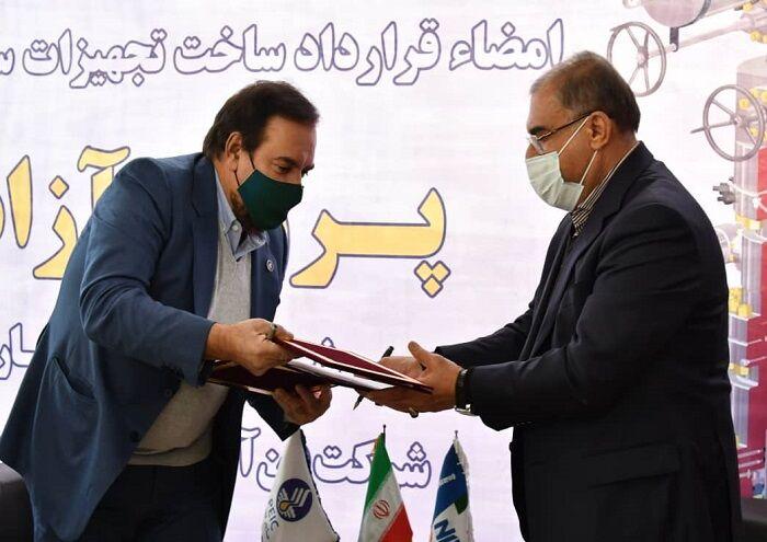 شرکتهای ملی حفاری و فناوری تجهیزات سرچاهی قرارداد امضا کردند