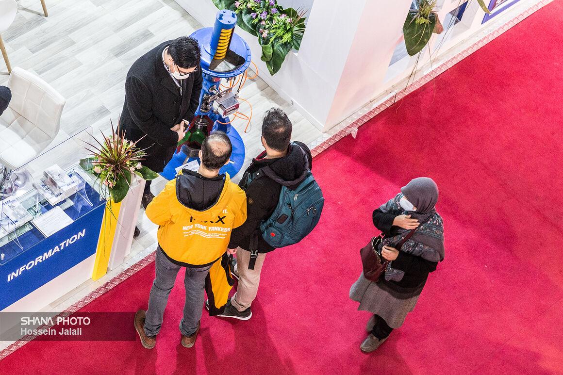 حاشیه روز پایانی بیستوپنجمین نمایشگاه بینالمللی نفت ایران