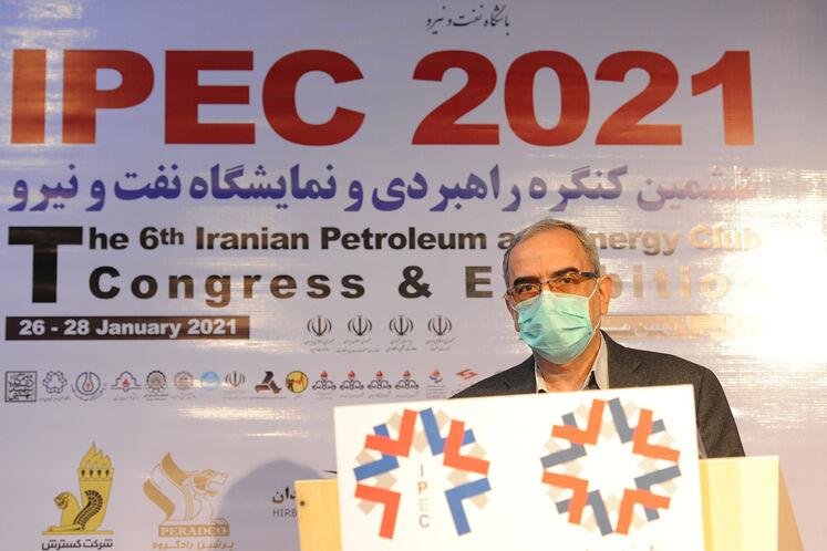 حبیبالله بیطرف در ششمین کنگره راهبردی و نمایشگاه نفت و نیرو