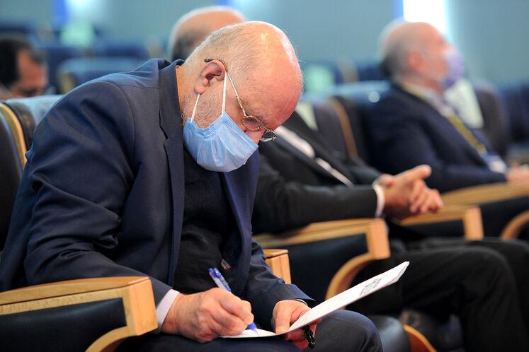 بیژن زنگنه، وزیر نفت در ششمین کنگره راهبردی و نمایشگاه نفت و نیرو