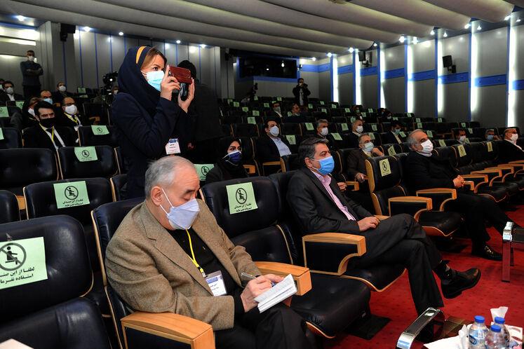 امیرحسین زمانینیا، معاون امور بینالملل و بازرگانی وزارت نفت در ششمین کنگره راهبردی و نمایشگاه نفت و نیرو