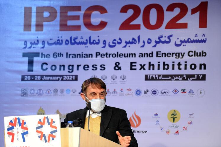 آقامحمدی، عضو مجمع تشخیص مصلحت نظام در ششمین کنگره راهبردی و نمایشگاه نفت و نیرو