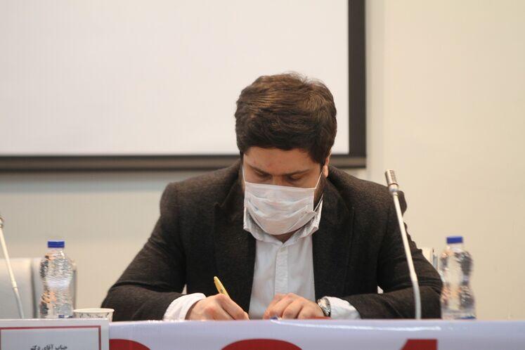 محمد مصطفوی، عضو هئیت مدیره شرکت گسترش و نوسازی صنایع نفت پارسیان