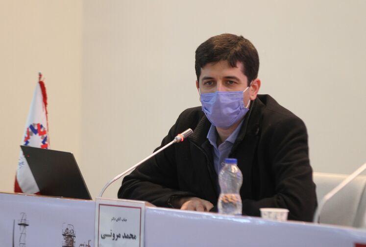 محمد مروتی، مدیرعامل موسسه پژوهشهای پیشرفته تهران