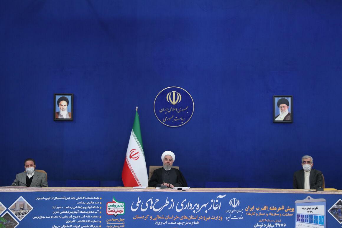 روحانی: جهش تولیدی که رهبری مدنظر داشتند، روی زمین نماند