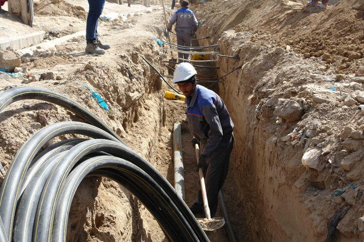 اجرای حدود ۱۷۰۰ کیلومتر شبکه تغذیه و توزیع گاز در کرمان