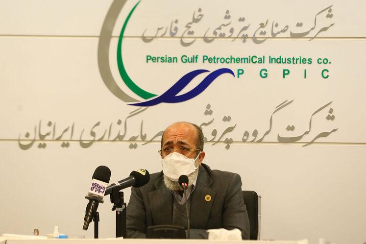 رسول اشرف زاده، مدیرعامل شرکت گروه پتروشیمی سرمایه گذاری ایرانیان (پترول)