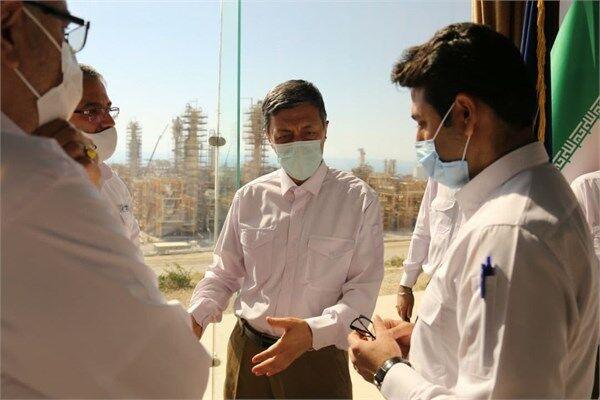 قدردانی رئیس بنیاد مستضعفان از افتخارآفرینیهای وزارت نفت در پارس جنوبی
