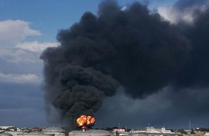 اعلام انفجار در پتروشیمی حیفا از سوی رسانههای صهیونیستی