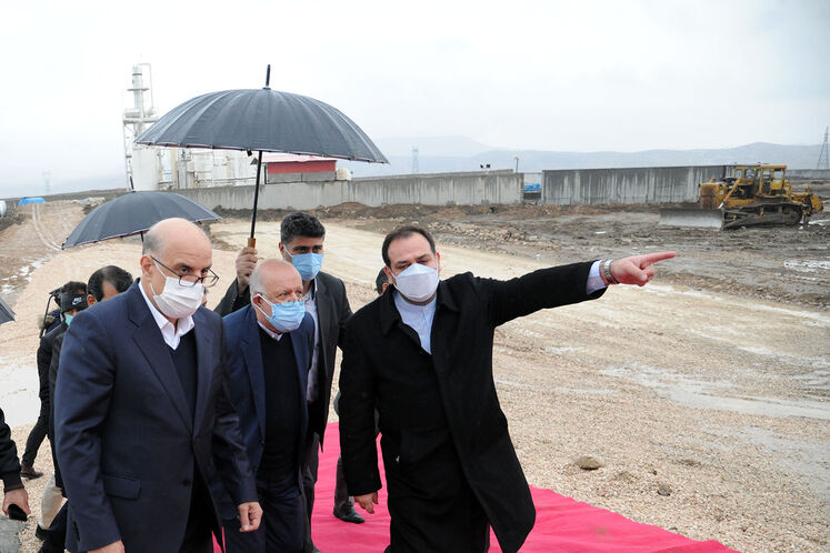 آیین آغاز عملیات اجرایی ساخت طرح پتروشیمی اسلامآباد غرب