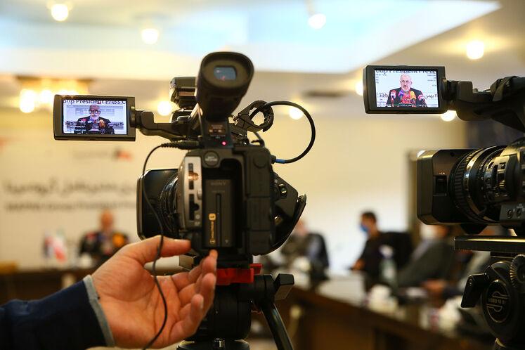 نشست خبری عباس علیآبادی، مدیرعامل مپنا