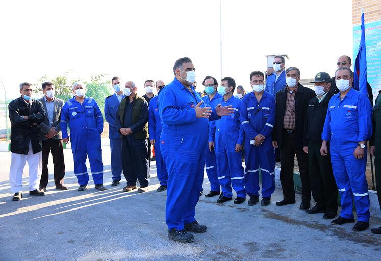بهرهبرداری از چهار طرح مهم صنعت نفت در منطقه عملیاتی خارک شرکت نفت فلات قاره ایران